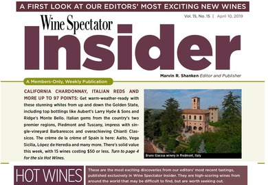 "I DUE ""HOT WINES"" SECONDO WINE SPECTATOR"